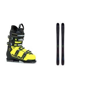 Adulto – Esquí FREERIDE – ESQUÍ+BOTAS