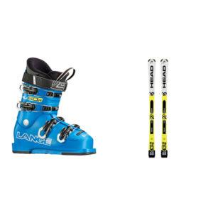 Junior – Esquí –<br> ESQUÍ + BOTAS