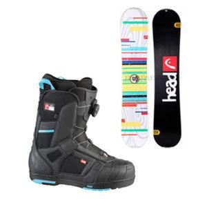 Junior – Snow – Equipo Completo